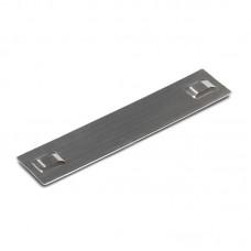 МБC (304) 89х10 (с лазерной маркировкой) Бирки маркировочные из нержавеющей стали AISI 304