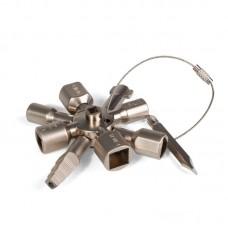 AC-25 Ручной пневматический кримпер для обжима втулочных наконечников