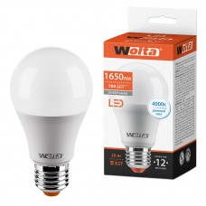 Светодиодная лампа WOLTA 25S65BL20E27 20Вт 4000К E27