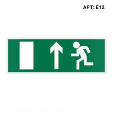 Знак безопасности (пиктограмма) Е12