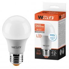 Светодиодная лампа WOLTA 25S55BL7E27 7Вт 4000К E27