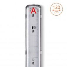 Светильник светодиодный WOLTA PRO УльтраПРОМ ДСП04-36-042-5К с БАП 36Вт 4800лм IP65 5000K Прозрачный