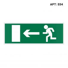 Знак безопасности (пиктограмма) Е04